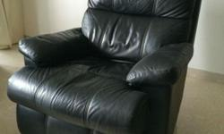 3 used, black Lay-Z-Boy Sofas in very good condition.