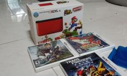 Selling 3ds xl preinstall mario for 250. still have