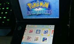Modded A9LH 3DS XL preloaded with lots of games. Comes