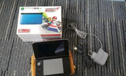 Hi, I wanna to sell away my 3DS XL Blue Mario Kart (pre