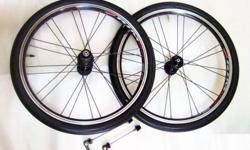 ~~~ 406 ALuMiNIum 20ins Wheel Set for FoLDie BiCYCLe