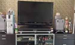 "42"" Hitachi flat screen TV with remote. Good condition."
