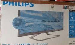 42 INCH 3D ULTRA SLIM SMART LED TV-42PFL5008, WITH