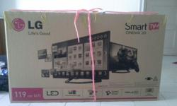 Only 1yr Old Brand new 47 inches LG 3D SMART LED TV for