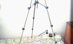I have one 4 section tripod for sale. Good condition.