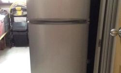 Letting go of our 2-dr Samsung fridge for $50 only.