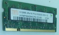 Good condition RAM for your computer. 512 RAM. Got 2