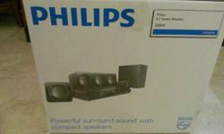 Letting go brand new philips htd3510 DVD home sound
