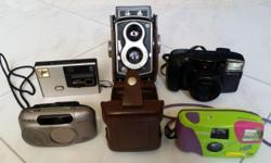 5 sets of camera for antique collectors. 1. Seagull-