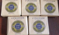 I am Selling 5 pieces of L'Occitane 100g Verbena extra