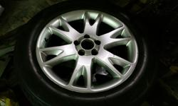 Set of 18 inch Volvo Atlantis Rims. Exclusive to Twin