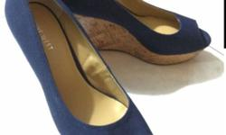 Brand New Denim NineWest Wedges Ladies / Heels for