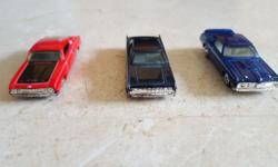 3 Hotwheels and Matchbox Retro Cars for Sale at $20.