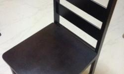 6 DINNING CHAIRS FOR SALE @ $100 (NEVER BEEN USED)