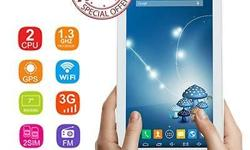 "7"" Tablet 3G WiFi (Dual SIM) -New Product PROMOTION"