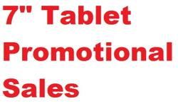 "7"" Tablet - Brand New in Sealed Box - Promotional Sale"