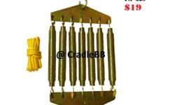 ~7pcs springs, Support 19+-kg ~each springs support 2-3