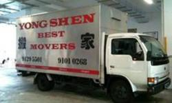 YONG SHEN BEST MOVERS CHEAPEST HOUSE MOVERS &