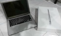 "WTS my preloved 128GB/4GB ram macbook air 13"" bought in"