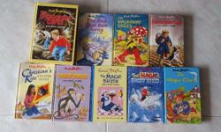 9 Enid Blyton Stories Books A bundle of 9 hard cover