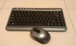 Selling brand new condition A4 Tech wireless mouse and