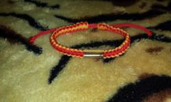 String Bracelets are common to Thailand often known to