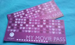 A Pair of Cathay Cineplexes Movie Passes Valid till 30