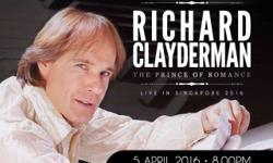 I selling ticket for Richard Clayderman - The Prince of