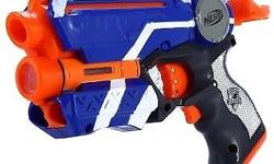 A good condition working set of toy NERF guns and a