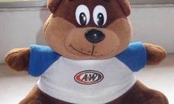 Anyone likes to adopt our childhood A & W Bear?   For
