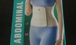 The abdominal support belt is for use after baby birth.