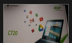 Selling brand new acer c720 chrome book asking price