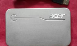 Acer aspire P 110, 500 GB external hard disk / portable