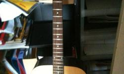 Acoustic Guitar by Custom Acoustic,inclusive of guitar