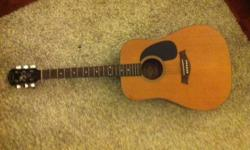 Selling my acoustic guitar by Jack and Danny DG-SOLO. I