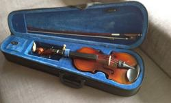 1 Set of Violin comes with shoulder rest. Original