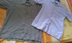 Adult casual wear short sleeve shirts (2pcs) @ $25