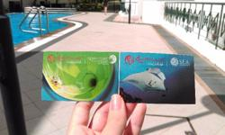I have 4 tickets for Adventure Cove Waterpark at