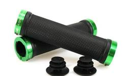 Aerozine XG1 Lock On Handlebar Grips - Green S$19 (For