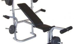 AIBI GYM Weight Bench AB-B602______________Cost: $100 4
