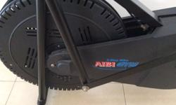 Black colored Aibi manual treadmill in very good