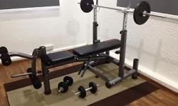 Used Aibi weights with bench set for sale. Bought late