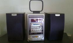 These Have Great Sound!  �AIWA CD Player + Cassette