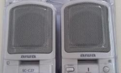 Aiwa SC-C27 multimedia PC speaker with 20W PMPO selling