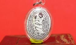 Auth Thai amulet locket Ying Tong first batch by Ajarn
