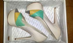 Never worn, bran new High heels from Aldo. They are