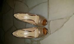 ALDO heels wear only once, in very good condition.