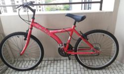 Aleoca Bicycle for sale - $ 30 Red Colour Self