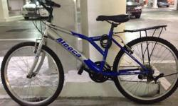 Very good condition only a year old Aleoca cycle.Hardly