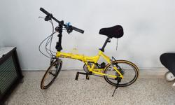 Aleoca Pedaggio Senza foldable bike. Quite new. Good